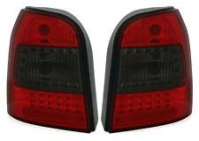 LED taillights set in RED SMOKED for AUDI A4 B5 AVANT Combi LIGHTS MCP 96-01