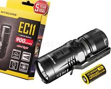 2015 NITECORE EC11 900 Lumens CREE LED Light w/ IMR 18350 Rechargeable Battery