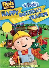 - BOB THE BUILDER - IDEAL FOR SON BROTHER CHILDREN'S PERSONALISED BIRTHDAY CARD