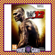 WWE 12 (Nintendo Wii) Brand New FREE REGISTERED POST