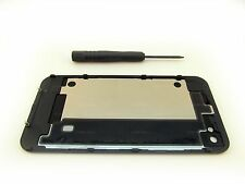 NEW REPLACEMENT BLACK AT&T iPHONE 4 4G GSM A1332 BACK GLASS +PENTALOBE TOOL OEM