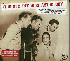THE SUN RECORDS ANTHOLOGY - 3 CD BOX SET - JOHNNY CASH, CARL PERKINS & MORE
