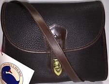 NWT*Vintage*DOONEY & BOURKE*AWL*Dark Chocolate*B225*Arrowhead Essex*16317W