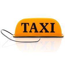 Car Taxi Magnetic Base Cab Roof Sign Light Lamp Orange 12V