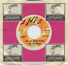 Hear- Rare Garage 45- The Antiques- Oh, So Many Ways - Hi Records # 2105 - Promo