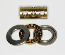 "Meccano Exacto 3/8"" Large Axle System Ball Thrust Bearing Axial Thrust Race."