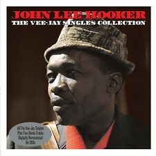 Vee Jay Singles Collection - John Lee Hooker (2013, CD NIEUW)2 DISC SET
