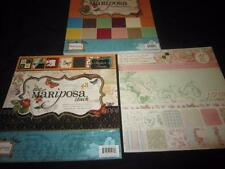 DCVW FRENCH COUNTRY & MARIPOSA 12X12 SCRAPBOOK CARD STOCK LOT