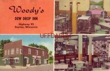 Specializing in excellent food WOODY'S DEW DROP INN Highway 92 DAYTON, WI