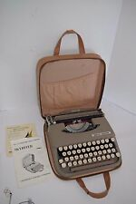 Vintage Smith Corona Skyriter Typewriter w/Case - Great Shape