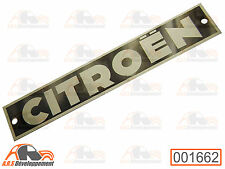 MONOGRAMME NEUF à riveter sur pare choc de Citroen 2CV ancien modèle  -1662-