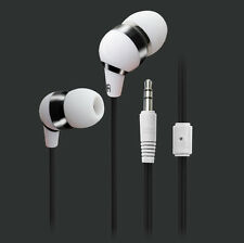 NEW In-Ear Enhanced Bass Noise-Isolating Headphone w/ Free 6 Silicone Ear Buds