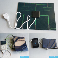 580-600MA 6V 3.5W Solar Panel USB Travel Battery Charger For iPhone Samsung CAD