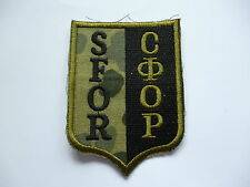 "GERMAN SFOR ARM PATCH  ""STABILISATION FORCE"""