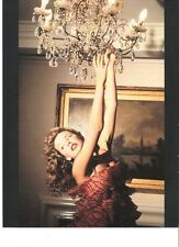 KYLIE MINOGUE arms up magazine PHOTO / mini Poster 9x7 inches