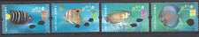 Hong Kong/China 2003 Tropical/PET FISH/Marine 4v set ref:s5013