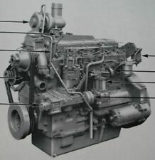 Perkins. 6.354.Diesel engine.Workshop manual. Dated 1967.