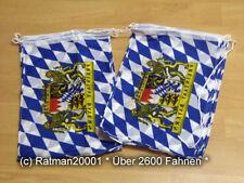 Fahnen Flagge Flaggenkette Bayern Freistaat 15 Fahnen