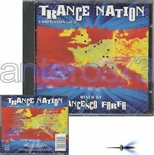TRANCE NATION VOL 2 CD- FRANCESCO FARFA NUNCA VFR BUBA MIKI