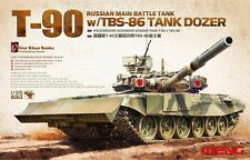 Meng Model TS-014 1/35 Russian Main Battle Tank T-90 w/TBS-86 Tank Dozer