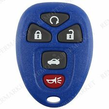 Replacement for 2006-2013 Chevy Impala 06-07 Monte Carlo Remote Key Fob 5b Navy