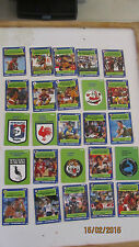 Scanlens 1990 NRL Cards x 30