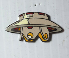 "Vintage Invaiders Spaceship 1.25"" Cloisonne Pin (WWPI-LoG)"