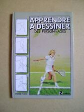 Livre Apprendre à dessiner des personnages  /AA24