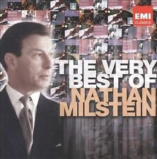 NATHAN MILSTEIN, violin - The Very Best of Nathan Milstein 2CD, 2011, EMI..