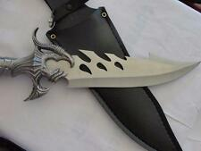 INTENSE Pewter MEDIEVAL KNIFE  (8 IN BLADE) comes with free sheath