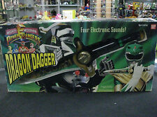 Vintage Bandai 1995 Mighty Morphin Power Rangers Dragon Dagger in original box