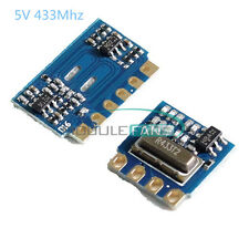 H5V4D 433MHz MINI Wireless Transmitter Module+Receiver Module Transceiver 5V