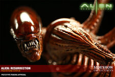 EXCLUSIVE SIDESHOW ALIENS ALIEN RESURRECTION STATUE FIGURE BUST WITH HYBRID
