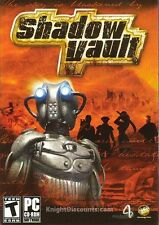 SHADOW VAULT Strategy RTS PC Game NEW in BOX Win98-XP