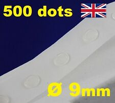 NEW 500 Glue Dots Sticky Craft Clear Card Making Scrap Removable 9mm EASY TACK