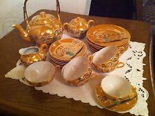 altes edles TOPP Japanisches Teeservice 6 Personen