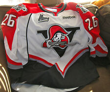 Drummondville Voltigeurs LHJMQ Game Worn Team Jersey with fight strap and LOA!