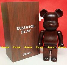 Medicom Be@rbrick 2015 Wooden Rosewood Paint Furniture 400% Rose wood bearbrick