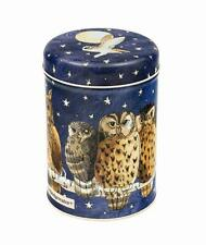 Emma Bridgewater Owl Round Caddy Coffee Sugar Tea Storage Tin Container 15cm