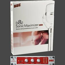 BBE Sonic Maximizer D82 VST RTAS Audio Unit AU Software Effects Plugin Processor