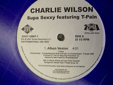 "Charlie Wilson-Supa Sexxy feat.T-Pain-12""Single-Jive-196671-VG++"