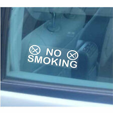 2-No Smoking Window Stickers-Home,Office,Business,Car,Taxi,Vehicle Warning Signs