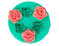 3D  Flower Silicone Chocolate Fondant Cake Candle Soap Molds Moulds Hot