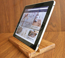Wooden Tablet Stand/display/tray for iPad 2/3/4/Air/Mini/Kindle/Samsung handmade