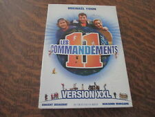 coffret 2 dvd les 11 commandements version XXL avec michael youn