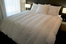 KING SIZE MARRIAGE SAVER QUILT/DOONA, 95% HUNGARIAN GOOSE DOWN, CHANNELLED av 2