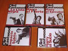 HARRY EL SUCIO , EL FUERTE , EL EJECUTOR , LA LISTA NEGRA , IMPACTO SUBITO -Prec