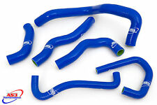 KAWASAKI ZX6R 2009-2016 HIGH PERFORMANCE SILICONE RADIATOR HOSES BLUE