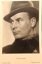 21565 Ross Film Foto AK 3830/1 Fred Liewehr mit Hut um 1940 photo PC