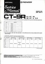 Service manual manual for Pioneer CT-9R